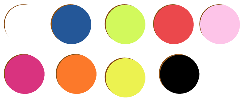 colores de los percheros