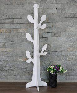 arbol hojas ambiente blanco
